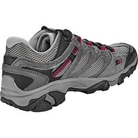 Hi-Tec Ravus Vent Low WP Shoes Damen charcoal/cool grey/amaranth